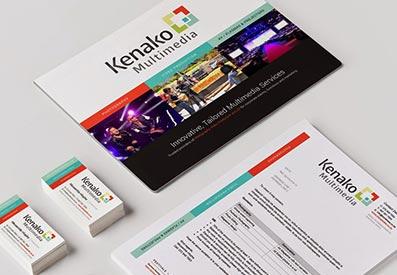 Kenako Multimedia - Branding - Corporate Identity Design