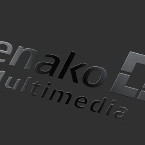 Kenako Marketing - Spot UV Logo Design MockUp