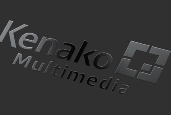 Kenako Marketing - Spot UV Logo Design MockUp