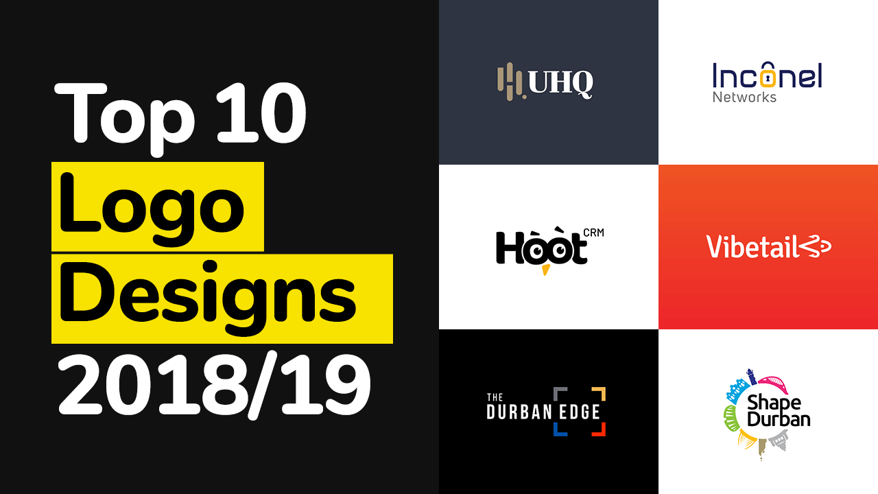 Top 10 Logo Designs in 2018 & 2019